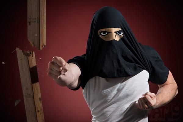 Ninja Disguise Flip Tshirt 3