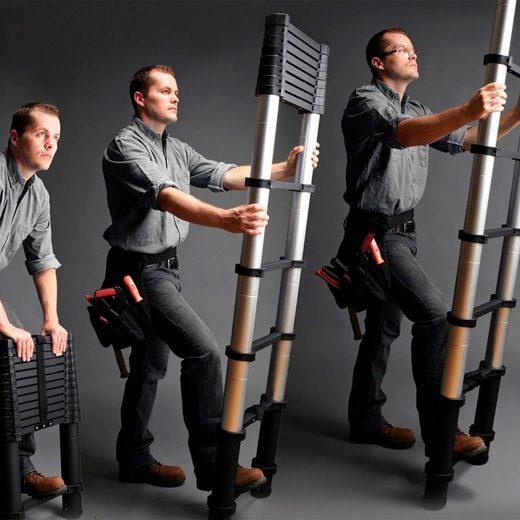 Aluminum Telescoping Ladder