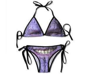 Thanos Themed Bikini 112