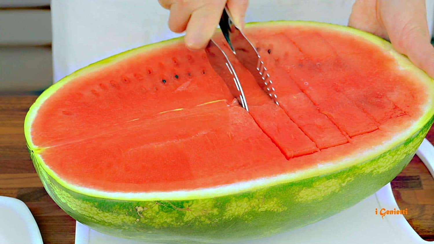 Watermelon Cutter and server