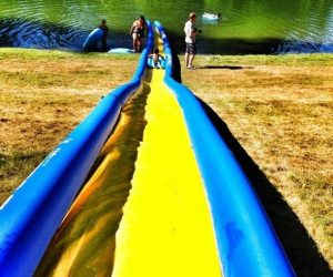 Portable Turbo Chute Water Slide