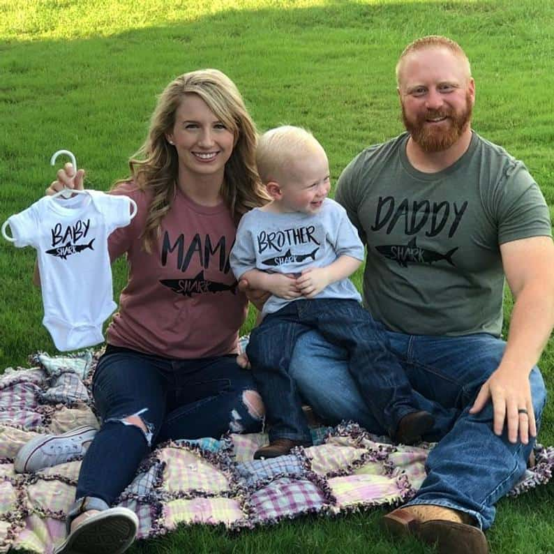 Custom Pregnancy Announcement Shirts