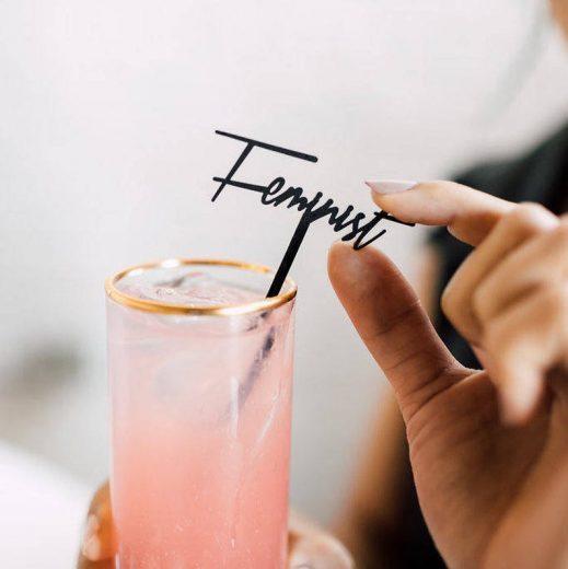 Feminist Drink Stirrer