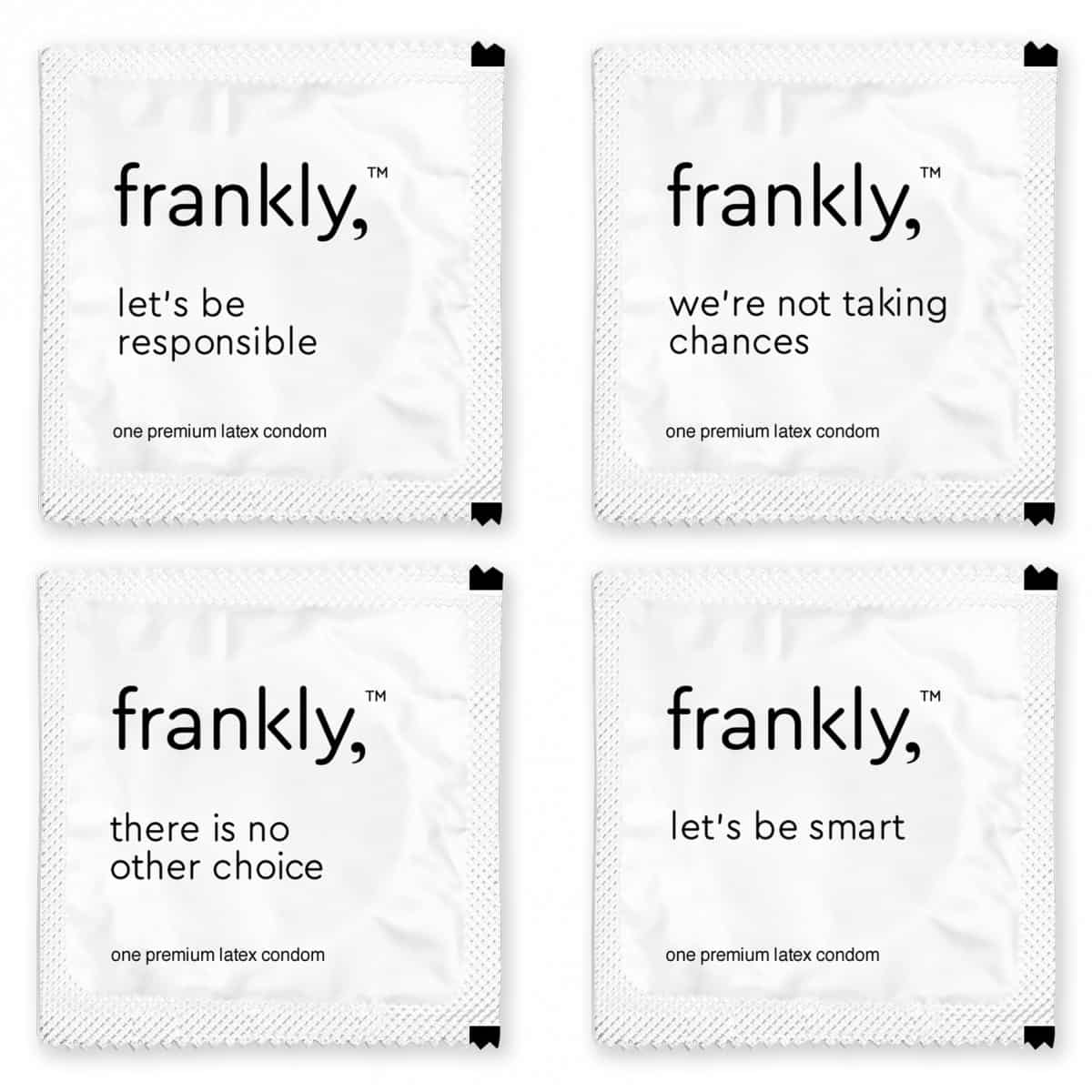 Funny Frankly Condoms