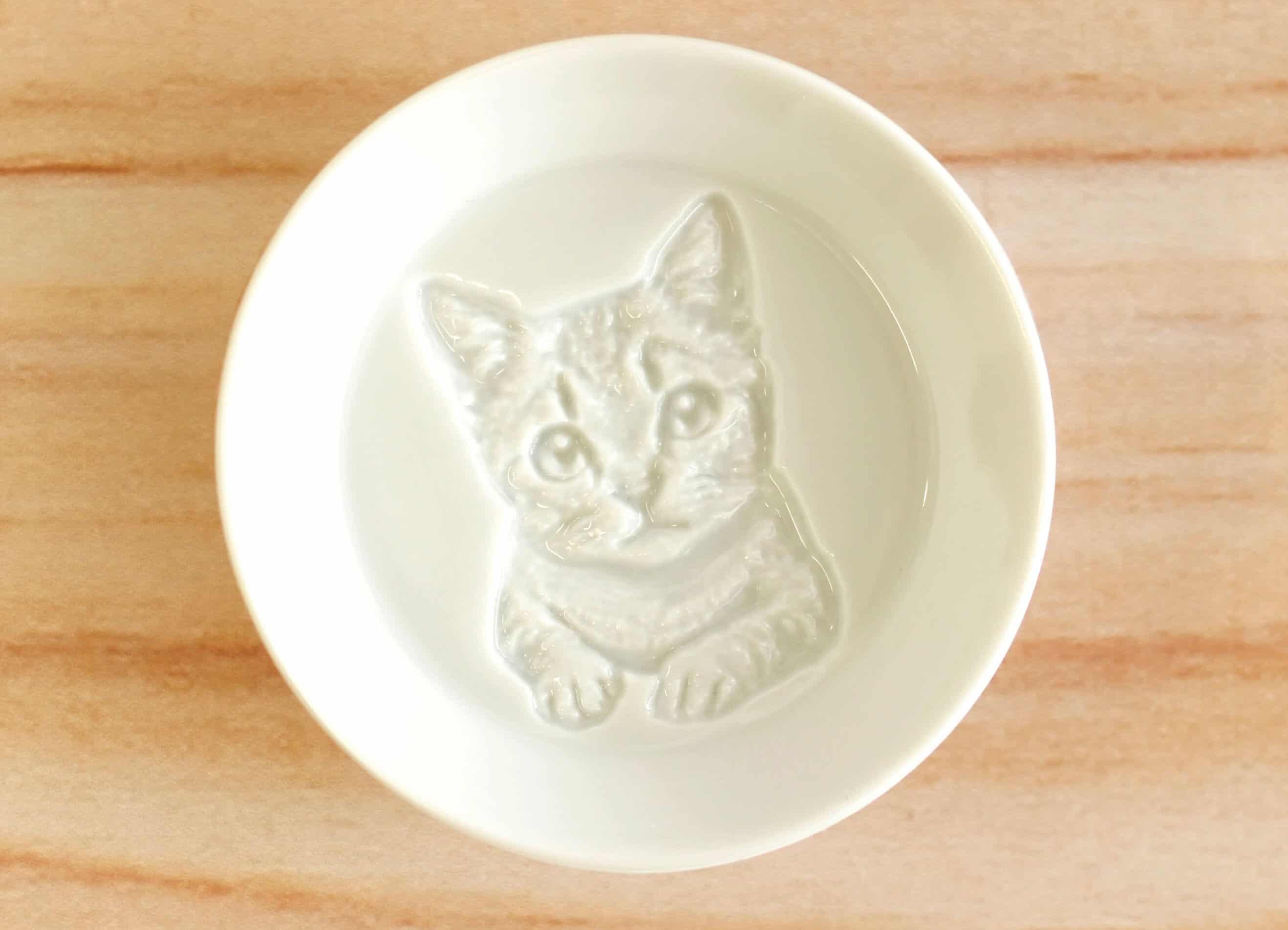 Kitten Soy Sauce Plate