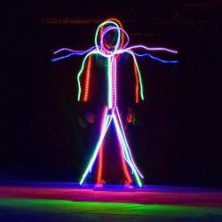 LED Stick Figure Costumes
