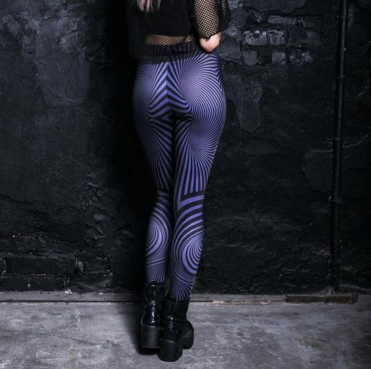 Trippy Psychedelic legging
