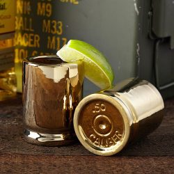 50 Caliber Shot Glass