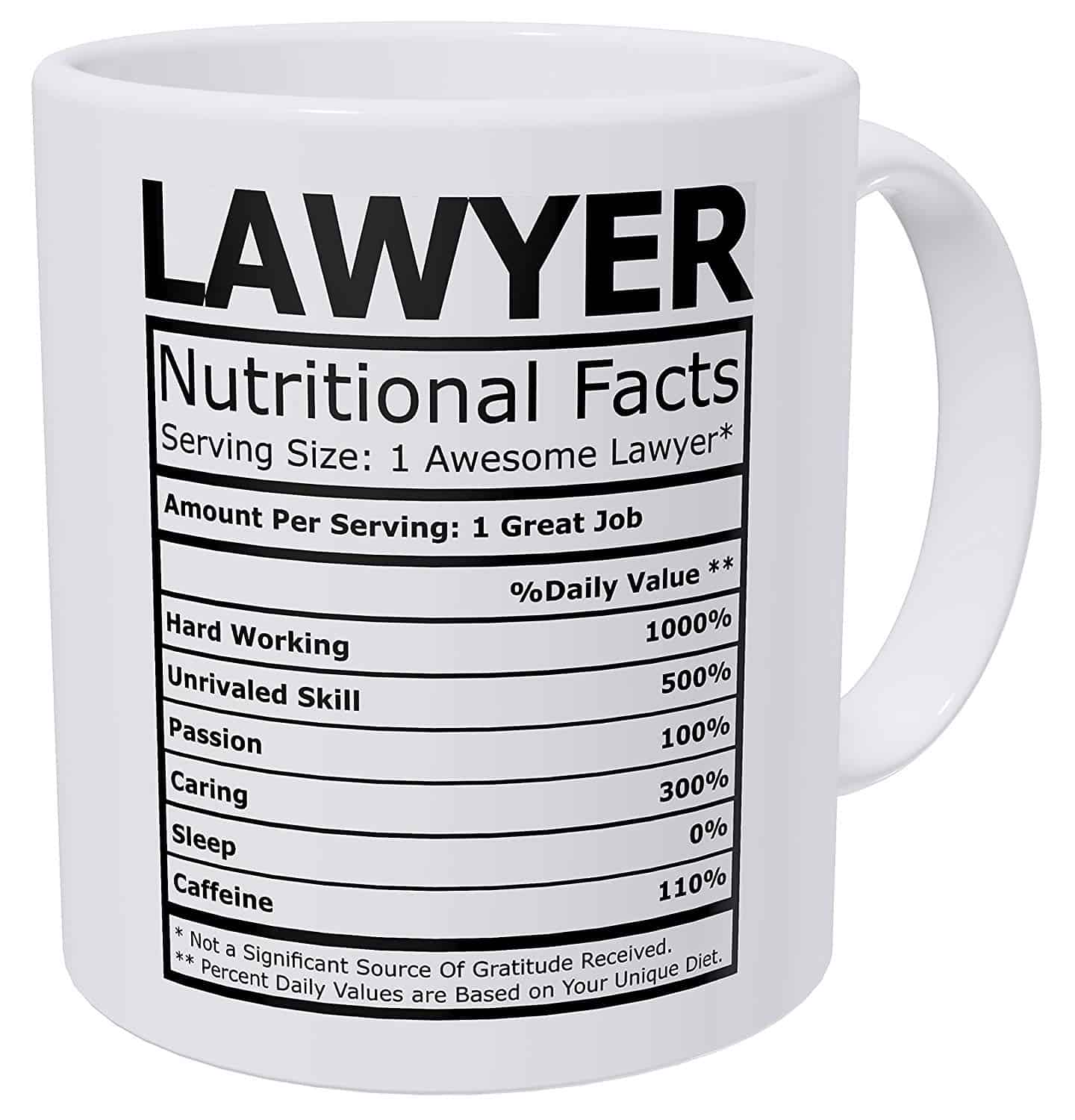 Coffee Mug for Lawyers
