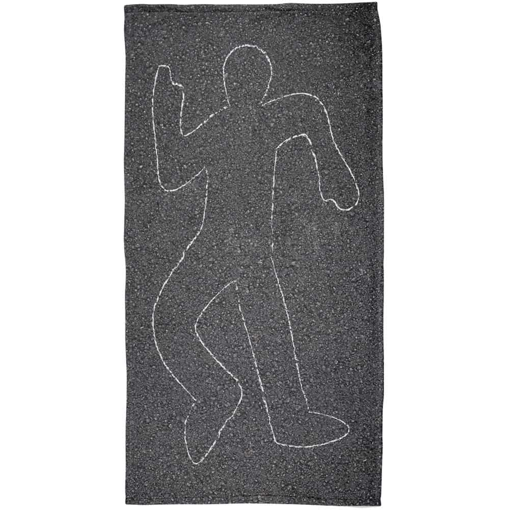Crime Scene Prank Beach Towel