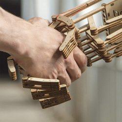 DIY Wooden Robotic Hand