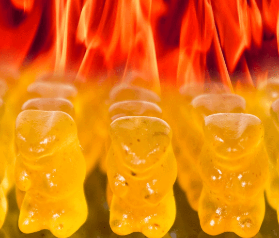 Devilish Hot Gummi Bears