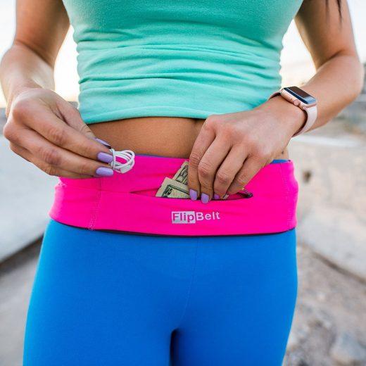 FlipBelt Zipper Running Belt