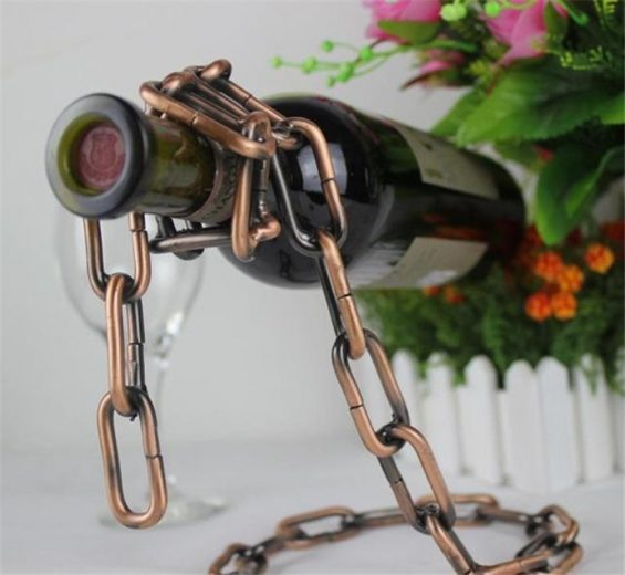 Floating Wine Bottle Holder