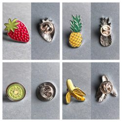 Fruits Enamel Pins