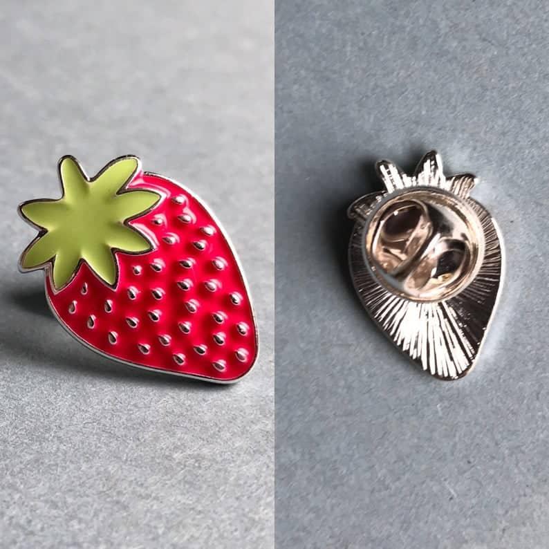 Fruits Enamel Pins