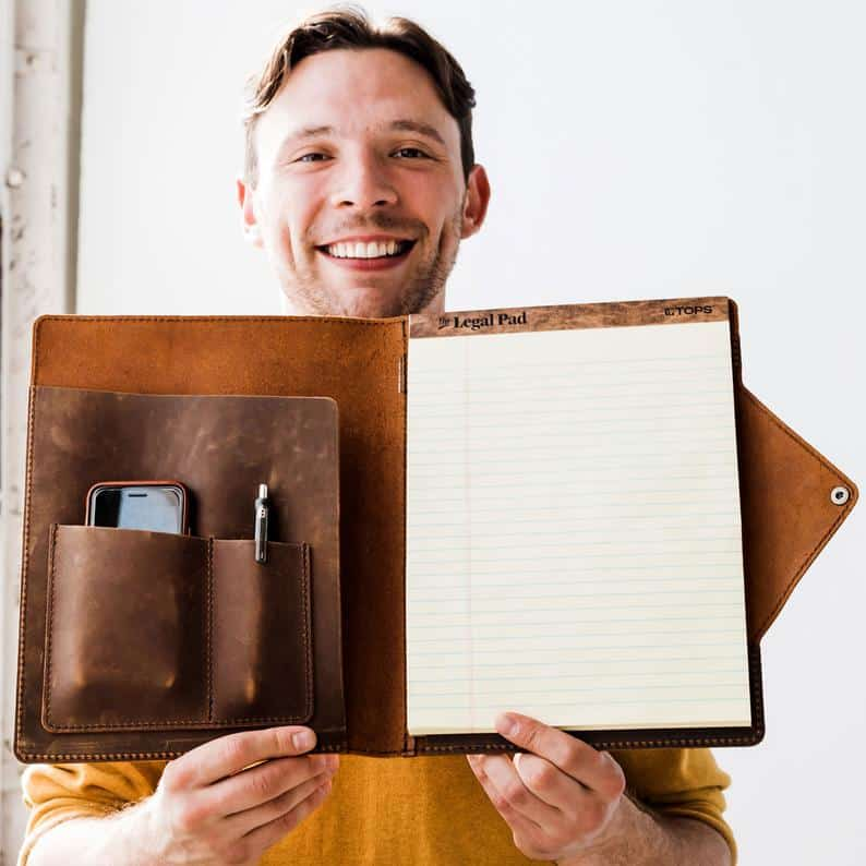 Leather Notebook for Lawyers