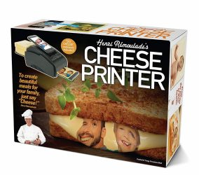 Novelty Cheese Printer