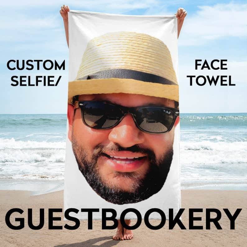 Personalized Face Towel