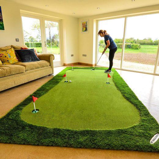 Portable Golf Putting Mat