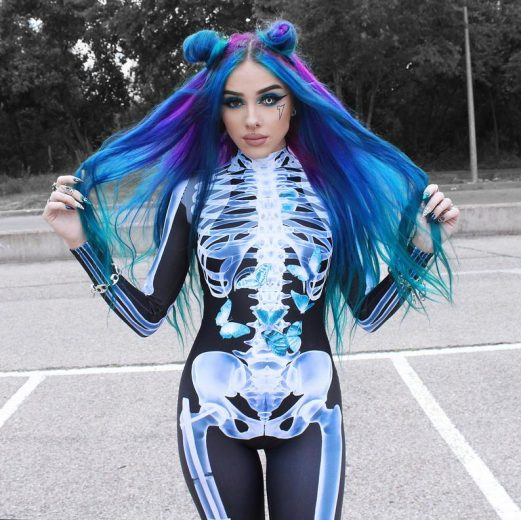 Sexy Skeleton Halloween Costume