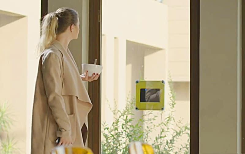 Smart Window Cleaning Robot