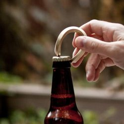 Trophy Brass Bottle Opener