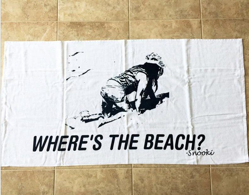 Where is The Beach Towel