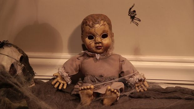 A Haunted Doll with sound