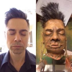 Custom Shrunken Head Replica