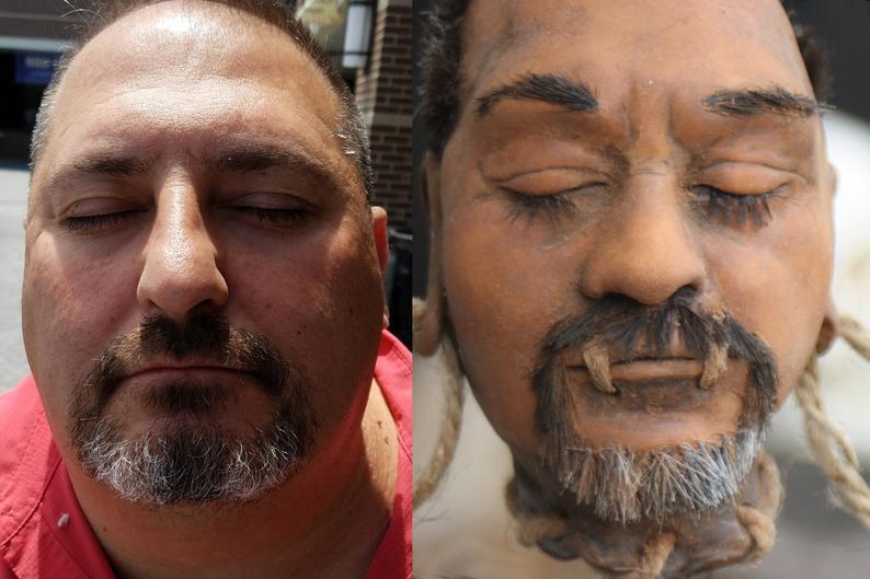 Custom Shrunken Head Replica