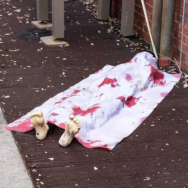 Dead Body Halloween Prop