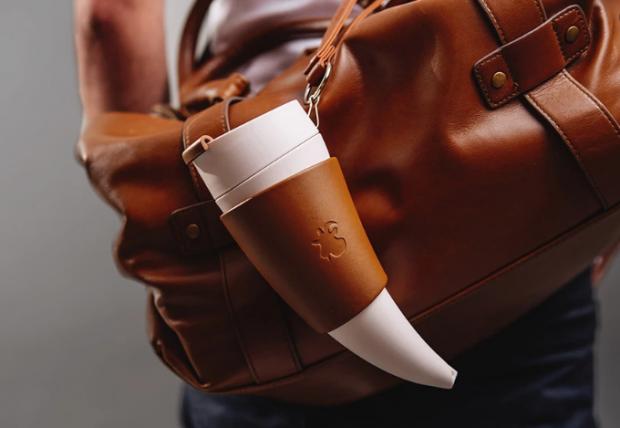 Horn Shaped Coffee Mug