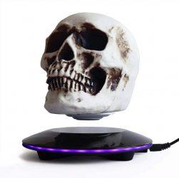 Magnetic Levitating LED Skull