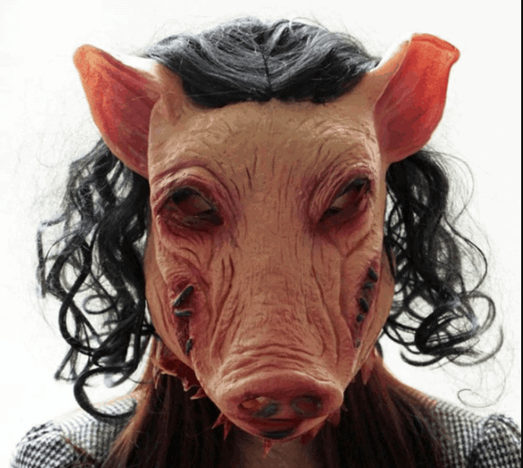 Saw Scary Pig Mask