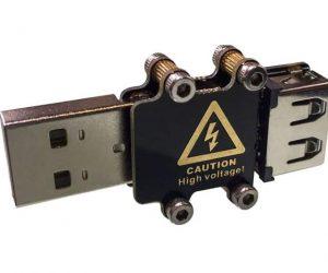 Weaponized USB Killer Stick