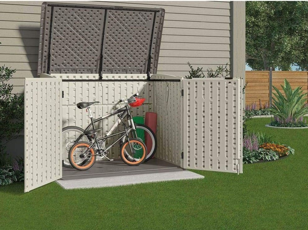 Compact Bike Storage Shed