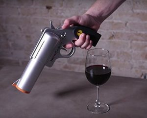 Gun Shaped Wine Opener