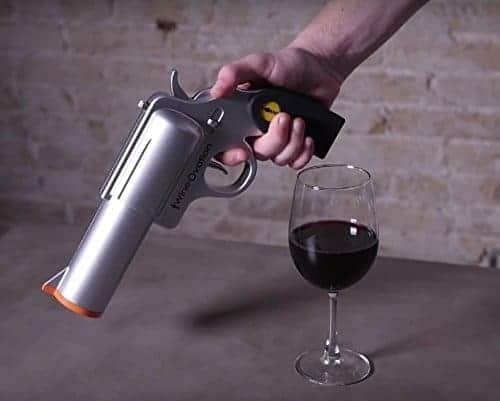 Gun Shaped Wine Opener