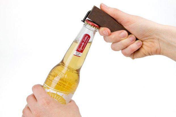 Walnut Bottle Opener