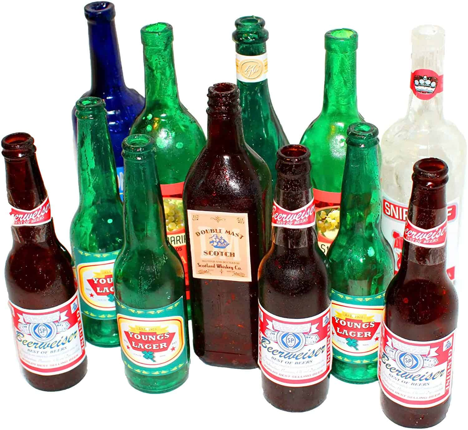 Not your regular beer bottles filled up with your lovable beer and also not made up of sugar. These breakable prop beer bottles look very similar to the real brand's bottles but are made for another type of fun activity. These bottles will provide realism to your bar fight filming by using these SMASHProps Breakaway Props bottle.