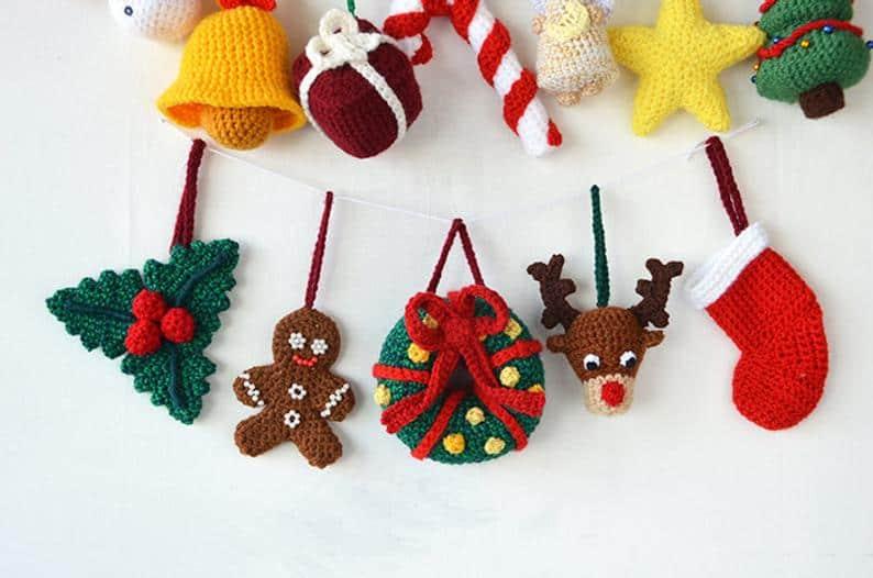 Crochet Patter Christmas Ornaments