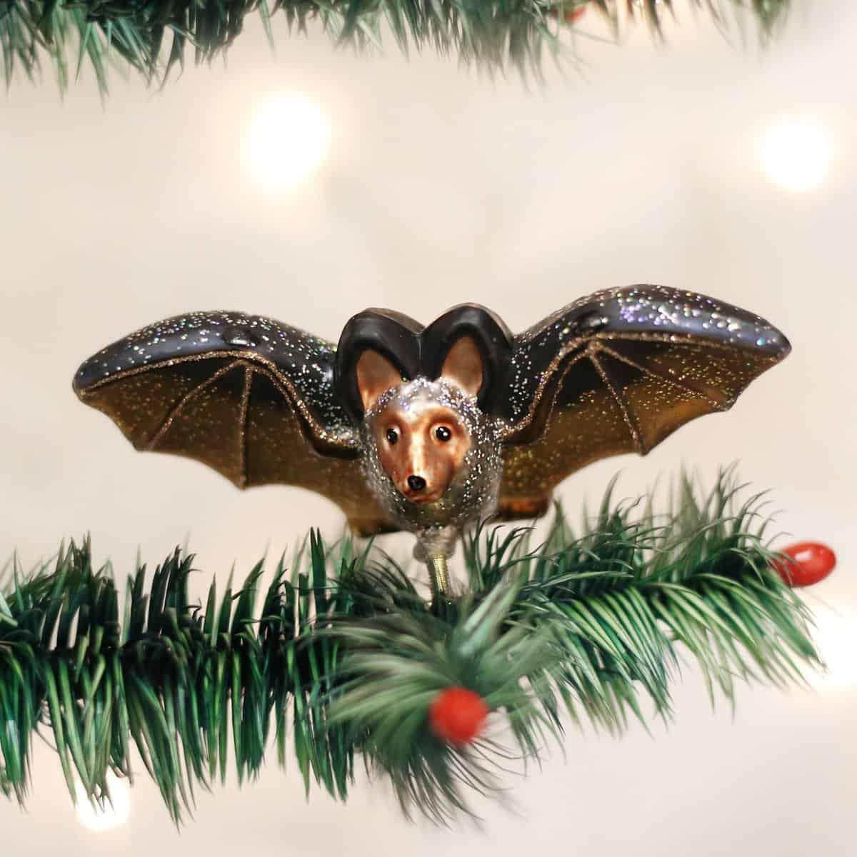Halloween Bat Figurine Ornaments
