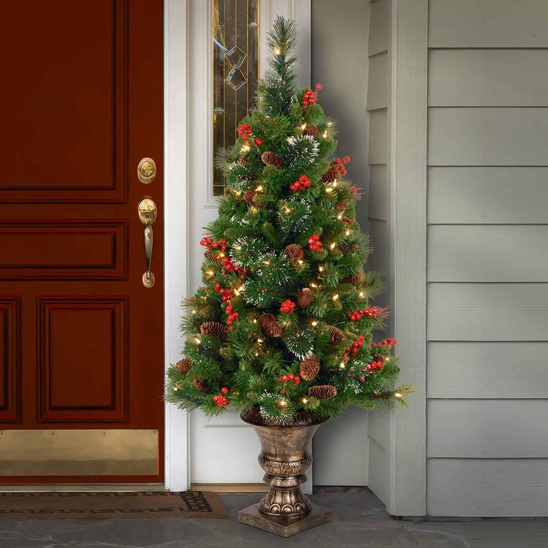 Inbuilt Christmas Decoration Tree
