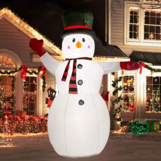 Inflatables Snowman