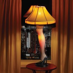 Girl Leg Shaped Lamp