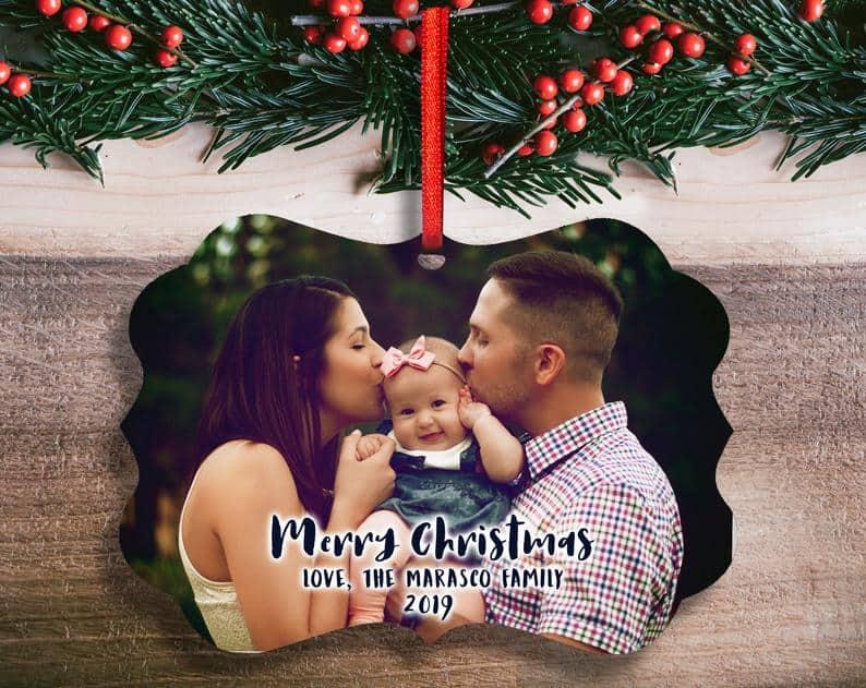 Personalized Christmas Tree Decoration