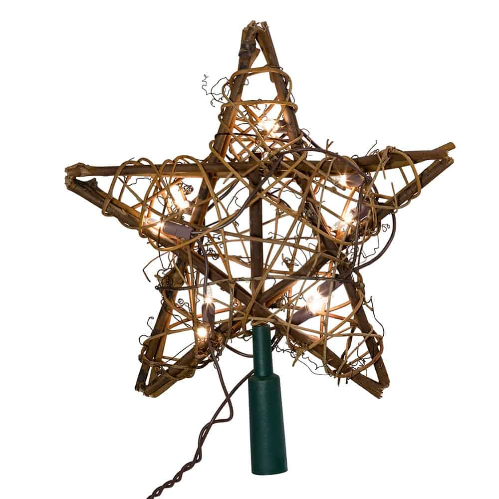 Star Shaped Tree Topper