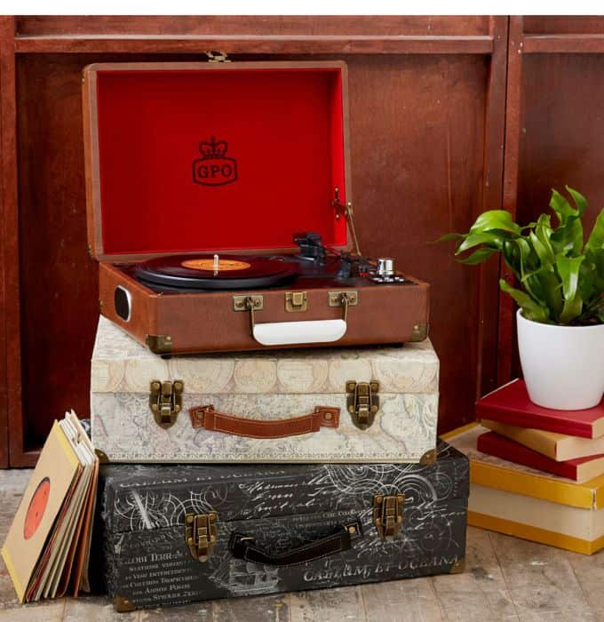 Gramophone In Briefcase