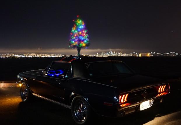 Christmas Tree For Cars